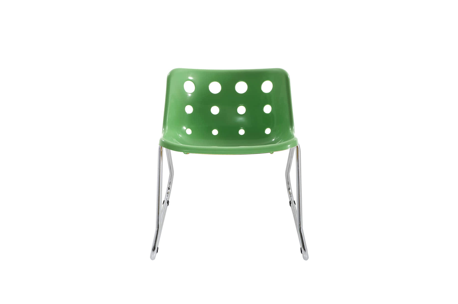 (주)도이치[BRITISHER] POLO chair by Robinday 1972 / sled cromed leg